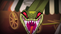 Chimera snake head hissing at Apple Bloom S4E17.png