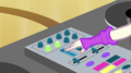 DJ Pon-3 operating the audio mixer EGS1.png
