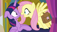 "Fluttershy ""Mystical Mask was Mage Meadowbrook!"" S7E20"