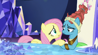 Fluttershy worried about Mage Meadowbrook S7E26