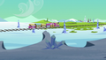 Friendship Express chugs toward Crystal Empire S6E1.png
