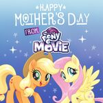 MLP The Movie 'Happy Mother's Day' promotional image