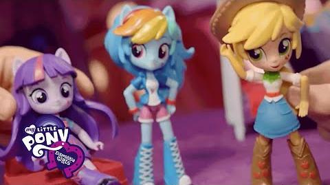 Muñecas My Little Pony Equestria Girls Minis - España - Primer anuncio