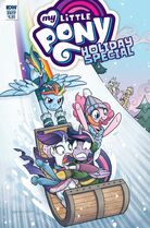 My Little Pony Holiday Special 2017 cover A