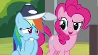 """Pinkie """"Celestia's team might be tough"""" S9E15"""