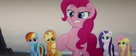 "Pinkie Pie ""we stuck together!"" MLPTM"