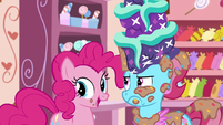 Pinkie Pie --it is delicious!-- S6E6