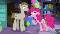 Pinkie Pie mocking Mudbriar -technically- S8E3