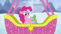 Pinkie Pie picks up Gummy S7E11