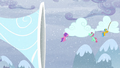 Ponies helping with the cloud transportation S5E5.png