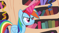 Rainbow Dash angry pout S4E04