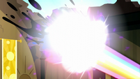 Rainbow Power melts Nightmare Moon away S5E13