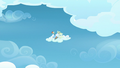 Rainbow and Vapor sitting on a cloud S6E24.png