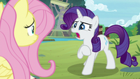 "Rarity ""what isn't the matter?"" S8E4"