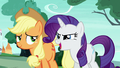 "Rarity Changeling ""the decorations were terrifying!"" S6E25.png"