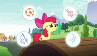 S06E04 Apple Bloom wchodzi na most
