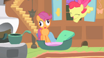 Scootaloo crossed eyed S1E17