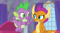 "Spike ""in the same sentence?"" S9E9"