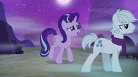 Starlight tries to apologize to Double Diamond S6E25