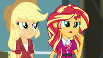 "Sunset Shimmer ""leave this to me"" EG3"