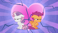 Sweetie Belle and Scootaloo break up S8E6.png