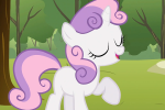 Sweetie Belle table