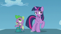 Twilight --did Rainbow Dash look really young-- S5E25