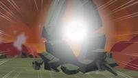 Twilight destroys a rock 3 S4E26