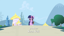 Twilight walking towards screen S01E01