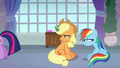 AJ and Rainbow even more annoyed S8E9.png