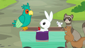 Animals gather around injured Angel Bunny S7E5.png