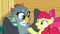 "Apple Bloom singing ""you're never gonna quit"" S6E19.png"