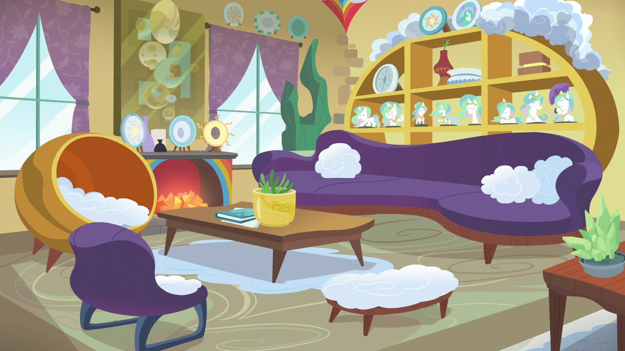 Bow And Windy S House Living Room Interior S7e7 Png