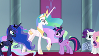 "Celestia ""when they've made a mistake"" S9E2"