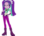Equestria girls aria blaze base 03 by selenaede-d86cldl
