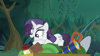 Fake Rarity claiming camping gear S8E13