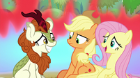 """Fluttershy """"thank you for that"""" S8E23"""