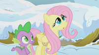 Fluttershy and Spike S1E11