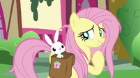 Fluttershy excited to have a tea party S9E18