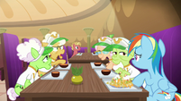 """Goldie """"we save up our energy all year"""" S8E5"""