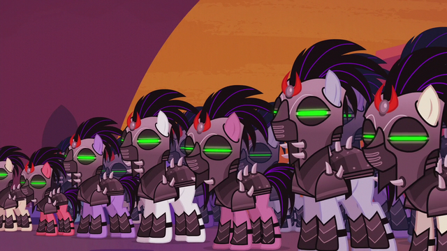File:King Sombra's mind-controlled army S5E25.png