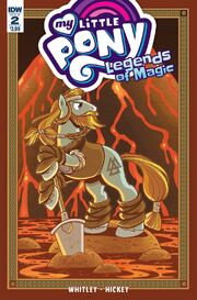 Legends of Magic issue 2 cover A