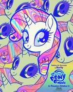 """MLP The Movie Rarity """"8weeks"""" poster"""