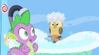 Owlowiscious taking a bath S1E24