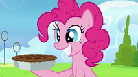 Pinkie Pie back to grinning S7E23