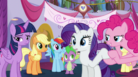Pinkie relieved S5E14