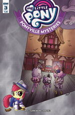 Ponyville Mysteries issue 3 cover A