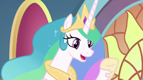 "Princess Celestia ""it's all thanks to you"" S9E1"