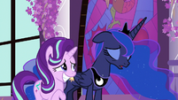 Princess Luna sighing heavily S7E10