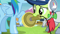 Rainbow's hoof being shined S4E10.png